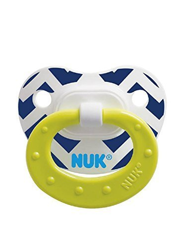 (NUK Fashion Patterns Orthodontic Pacifier 6-18 Months )