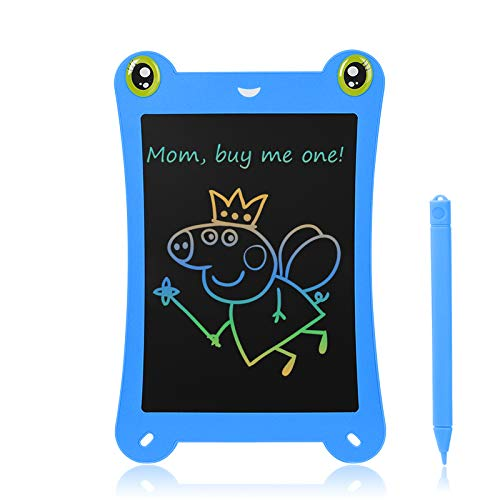NEWYES 8.5 Inch Colorful Frog-pad Doodle Pad Drawing Board L