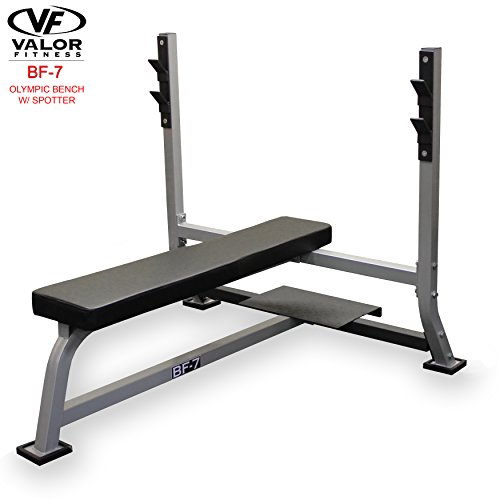 Cheap Valor Fitness BF-7 Olympic Bench with Spotter