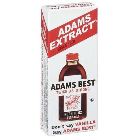Adams Twice Strong Vanilla Bottle product image