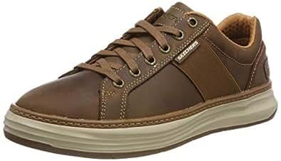 Skechers Mens 65984 Moreno- Winsor Brown Size: 7