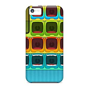 Iphone 5c Case, Premium Protective Case With Awesome Look - Monster Hd 8