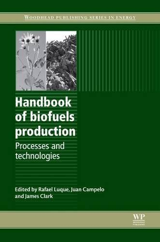 Handbook of Biofuels Production: Processes and Technologies (Woodhead Publishing Series in Energy)