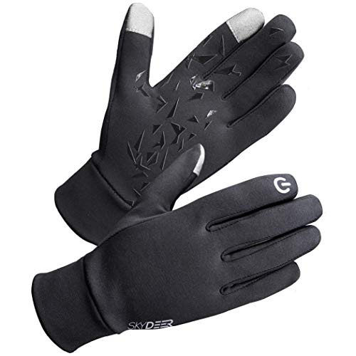 SKYDEER Men's and Women's Winter Driving Gloves Liner for Running Cycling and More Sports (SD2130/M) ()