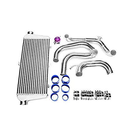 FMIC Intercooler Kit + BOV para 89 - 99 Nissan 240sx S13 S14 chasis con S13 SR20DET Swap: Amazon.es: Coche y moto