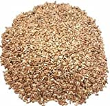 GROWN ORGANIC GOLDEN FLAX SEED LINAZA FLAXSEED BULK Omega-3 NO chemicals 25 lb
