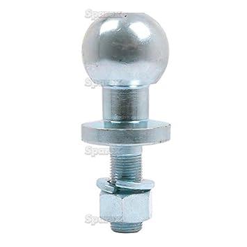 Ball Hitch Tow Ball Pin 50mm Universal Chrome Quad Atv Heavy Duty