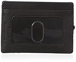 Dopp Men's Regatta Zipper Billfold Wallet, Black, One Size