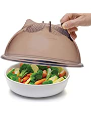 Progressive International High Dome Microwave Food Cover, 10.25 inches, Gray