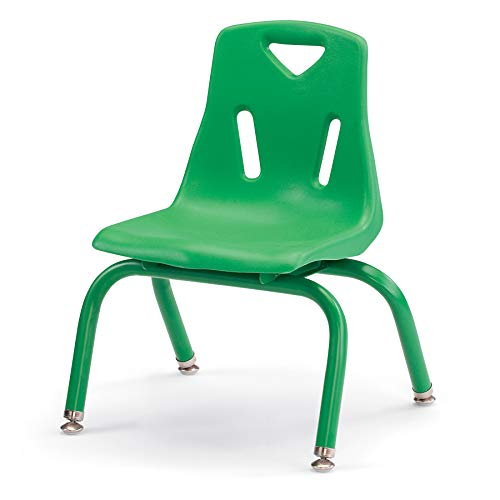 Berries 8120JC1119 Stacking Chair with Powder-Coated Legs, 10