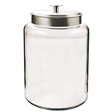 Anchor Hocking 2.5-Gallon Montana Jar with Brushed Metal Lid