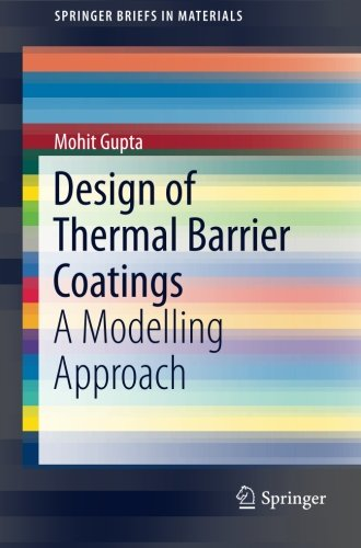 Design of Thermal Barrier Coatings: A Modelling Approach (SpringerBriefs in Materials)