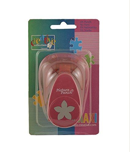 Vaessen Creative Craft Paper Punch Daisy Motive Puncher, Multi-Colour, Maxi ()