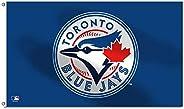 Toronto Blue Jays 3' x 5' Single Sided Ban