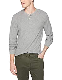 Amazon Brand - Goodthreads Men's Long-Sleeve Slub Thermal Henley
