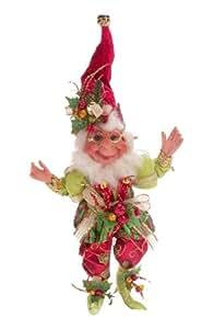 "Mark Roberts Collectible Holly Berry Christmas Elf - Medium 18.5"" #51-27580"