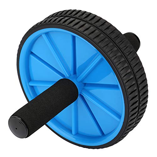 The Exercise Wheels with Dual wheels and Comfy Reehut Wheels With Knee Pad