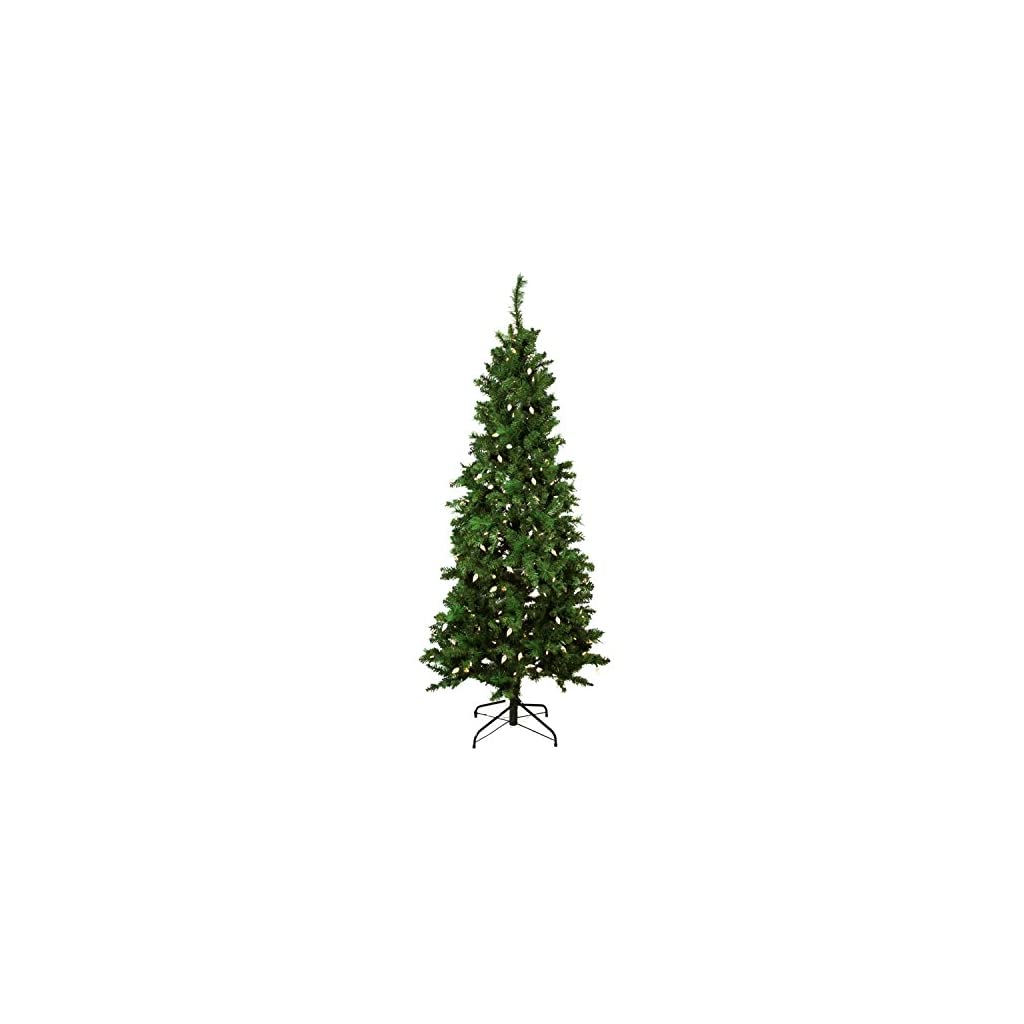Northlight-Pre-Lit-Single-Plug-Slim-Mixed-Long-Needle-Pine-Artificial-Christmas-Tree-Multi-Function-LED-Lights-7