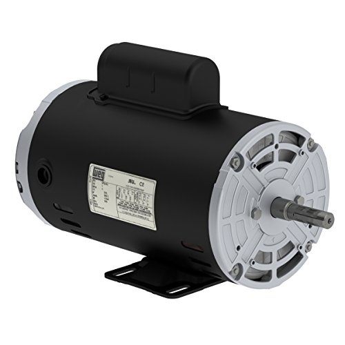 New WEG 1.5HP Electric Motor Fan Pump Compressor General purpose 56 frame 3430 rpm 1 phase 115/230VAC ()