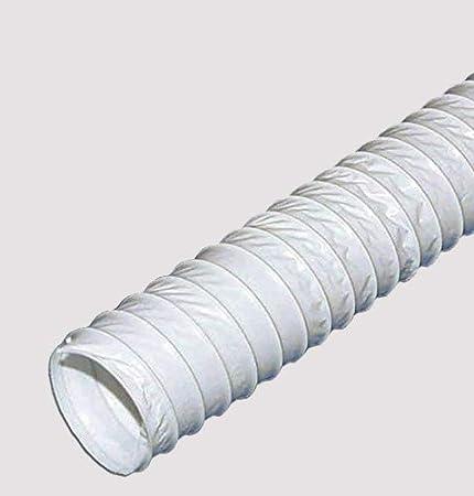 Tubo de salida de aire flexible de PVC (6 m, 150 mm): Amazon.es: Hogar