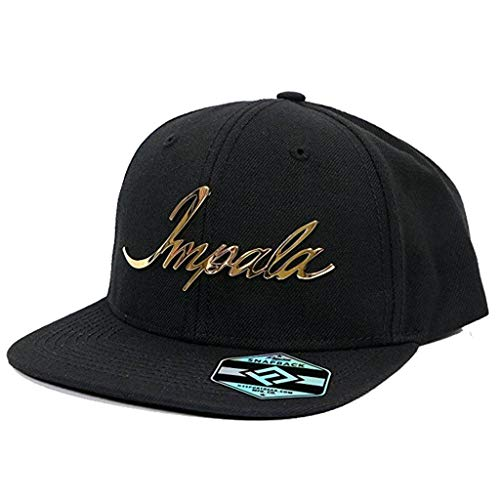 H3 SPORTGEAR Chevy Classic Impala Logo Snapback Adjustable Hat,Black ()