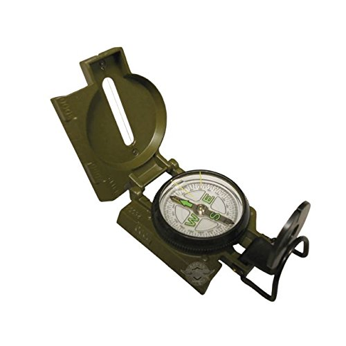 5ive Star Gear GI Spec Lensatic Military Marching Compass, Olive Drab by 5ive Star Gear