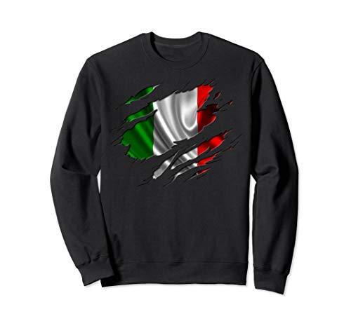 ITALY Shirt Italian Flag Sweatshirt Travel Gift Souvenir