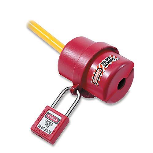 Masterlock S487 M/Lock Kleine Lockout Elektro-Stecker Abdeckung