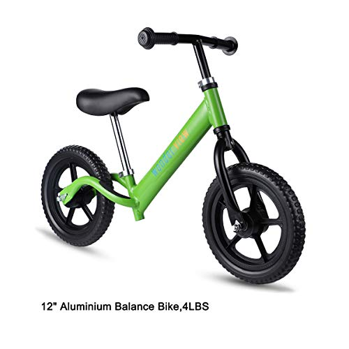 WonderView Balance Bike, 12 Kids Balance Bike Lightweight Balance Bike Outdoor Toys for Boys & Girls