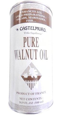 Walnut Oil 16.9 oz (500 ml) by Castelmuro