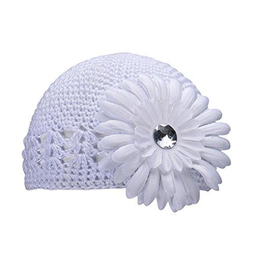 Le Hiver De Amlaiworld Bonnet Fille Blanc Chapeaux Bébé Bonnets Automne Fleur dgzOqzFw