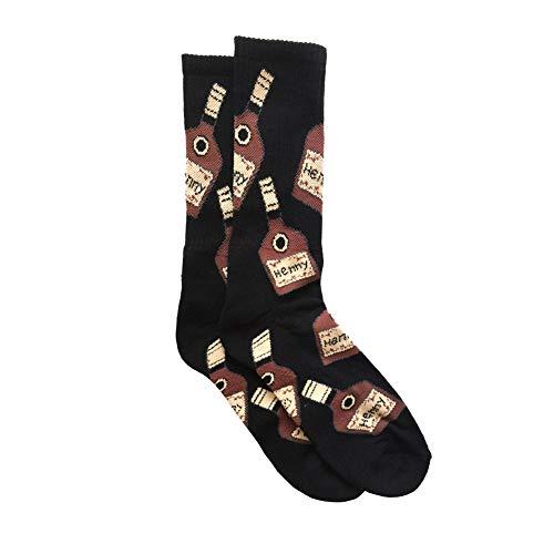 5e2bd920060 Henny Bottle Socks (Black