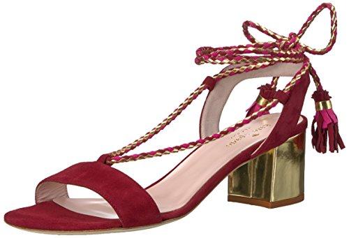 Kate Spade New York Women's Manor Dress Sandal Red Chestnut 7Rzbvn2H52