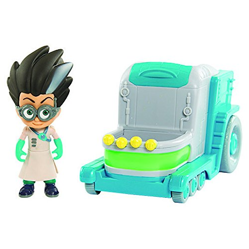 PJ Masks Villain Romeos Lab Vehicle with Romeo Figure: Amazon.es: Juguetes y juegos