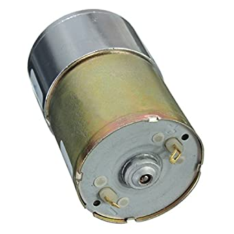 12V DC 100 RPM High Torque Gear Box Electric Motor for Speed Control
