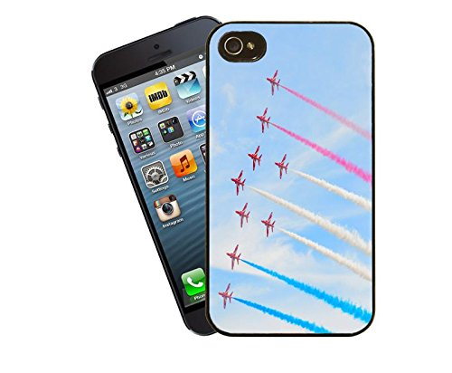 Aviation RAF Red Arrows Hawk Britannique d'Équipe – pour Apple iPhone 4/4S – by Eclipse idées cadeau