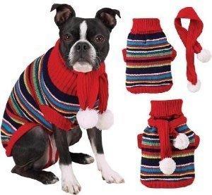 Multi Bright Turtleneck - Z & Z Multi-Bright Turtleneck Sweater Sm