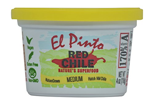 (El Pinto Medium Hatch Red Chile Sauce (4 Ounce, 6)