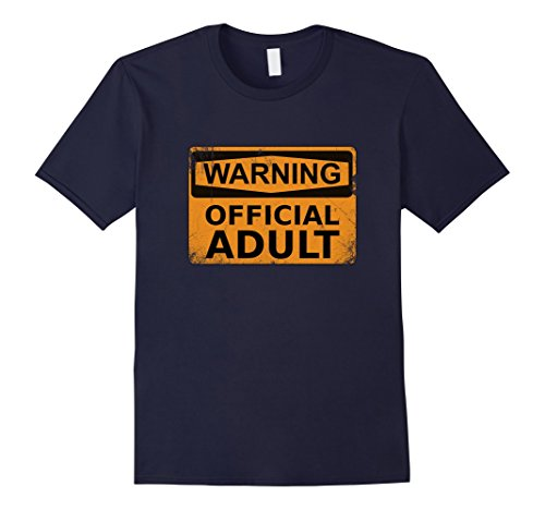 Mens Official Adult T-Shirt Funny 18th Birthday Gifts Medium Navy (18th Tee)