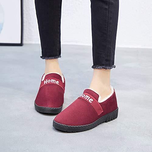 Cotone Cotone Anti in di calde Scarponi da red Vecchie Donna Donna Donna Scarpe HCBYJ Pechino da Sci Calde Stoffa di Scarpe Scarpe wO7xWXH46q