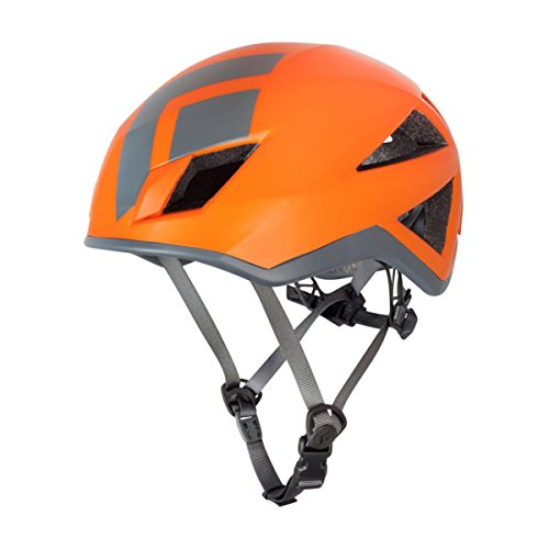 Black Diamond Vector orange climbing helmet