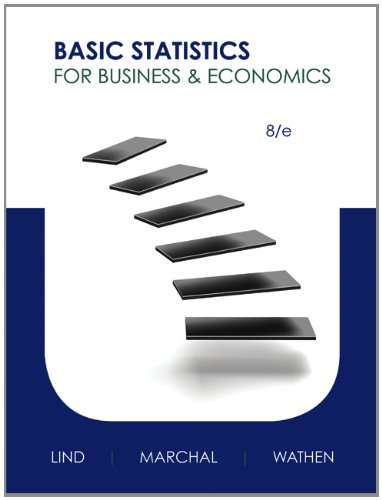 Book cover from Basic Statistics for Business and Economics with Connect Access Card by Douglas A. Lind