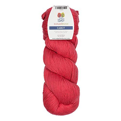 Sugar Bush Yarn Cabot Double Knitting Weight, Winni-Pink (Lion Brand Yarn Linen)
