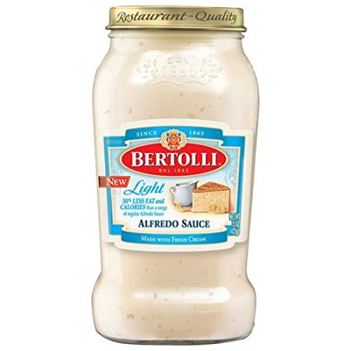 Bertolli Light Alfredo Sauce 15oz (Best Canned Alfredo Sauce)