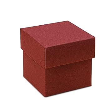 Amazon.com: Borgoña de cartón cajas 4