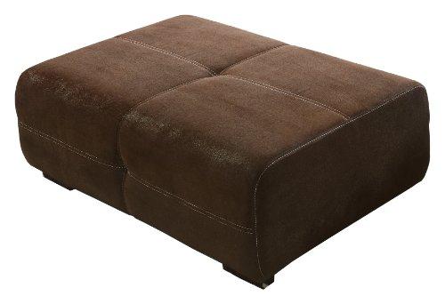 Cavadore 503 BigSofa Love Seats, Schaumstoff, braun, 108 x 71 x 41 cm