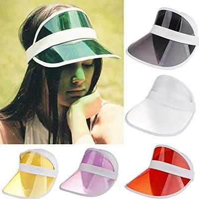 Unisex Summer Sun Visor Hat Outdoor UV Protection Sun Cap for Women Men and Kids Wide Brim 360°Rotation