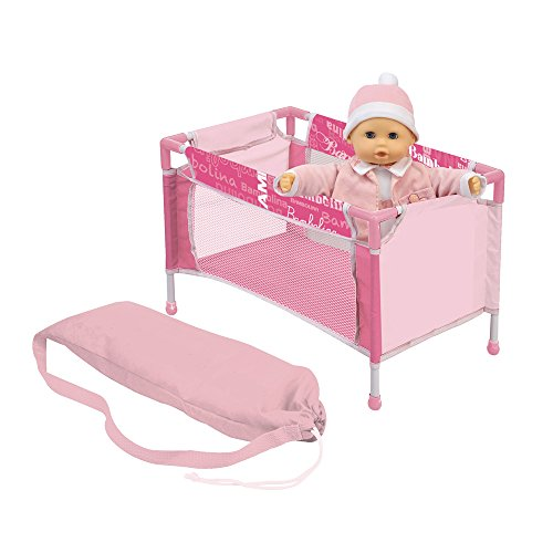 Rocco Toys–Doll–for Doll Travel Cot, bd548–217