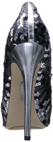 Pompa Per Peep Toe Cary2 Boutique 9 Donna Nero / Argento