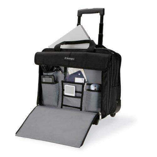 KENSINGTON SP100 39,6cm 15.6Zoll Classic Roller schwarz Tasche Case Koffer